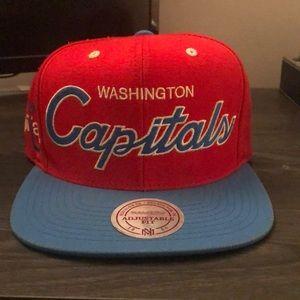 Washington Capitals Mitchell & Ness SnapBack